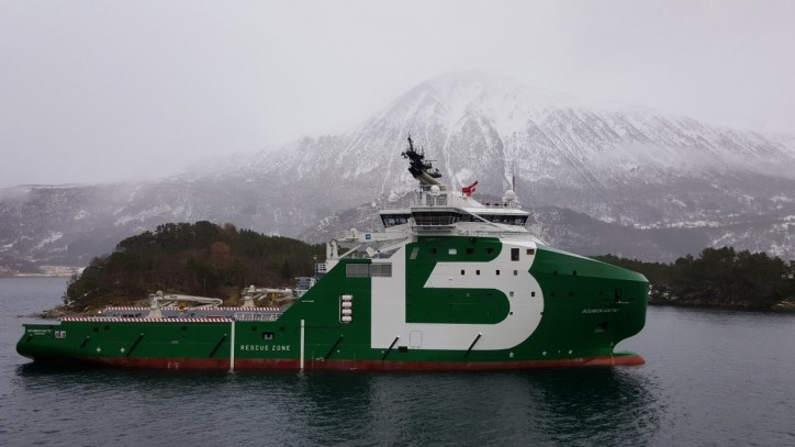 Bourbon Arctic - Brand new 300 t of bollard pull AHTS vessel for Lundin Petroleum in the North Sea
