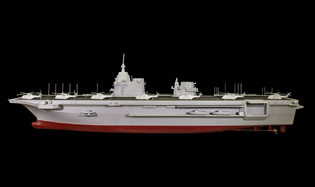Rolls-Royce completes factory acceptance test for first gas turbine for Italian Navy's new LHD to be built by Fincantieri