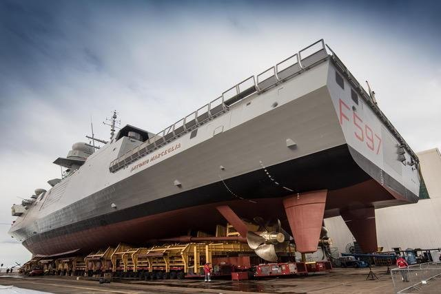 "Fincantieri Delivers FREMM Frigate ""Antonio Marceglia"" To The Italian Navy"
