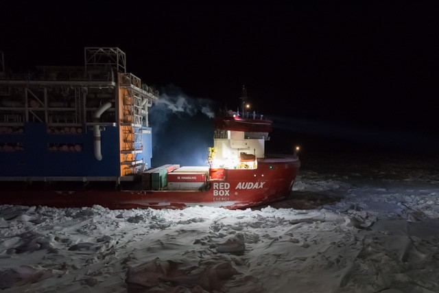 Polar Class vessel Audax commences journey to Yamal LNG