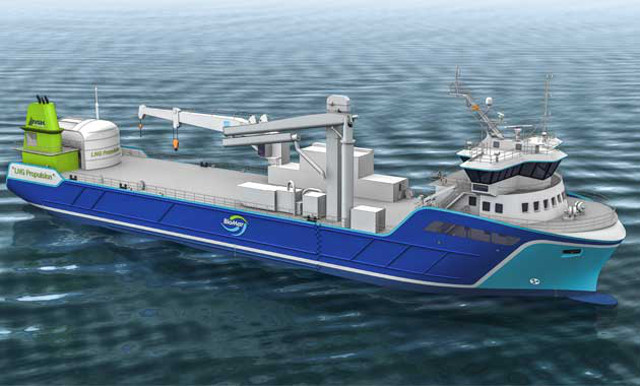 Rolls-Royce signs $6.5m to supply LNG propulsion package for fish food carrier