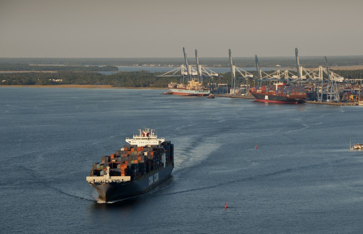 Container Volume Up 8 Percent at South Carolina Ports