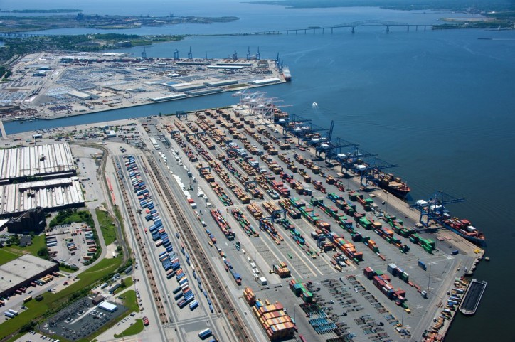 Helen Delich Bentley Port of Baltimore named one of the fastest-growing North American ports