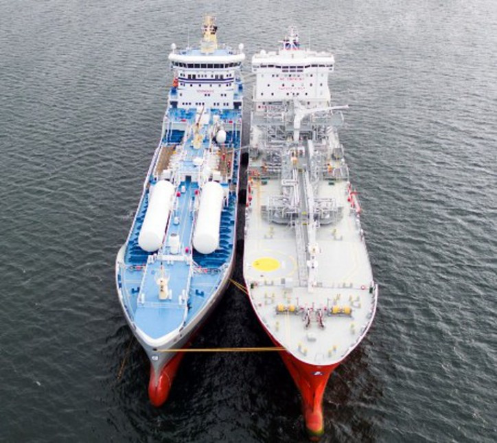 Bureau Veritas plays a major role in pioneering LNG in ship-to-ship bunkering