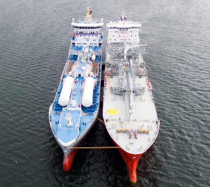 Bureau Veritas plays a major role in pioneering LNG in ship-to-ship bunkering