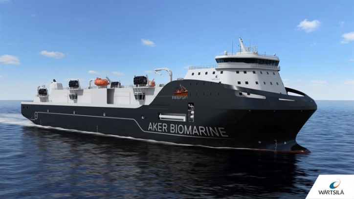 Wärtsilä to design and equip state-of-the-art transport vessel for Aker BioMarine