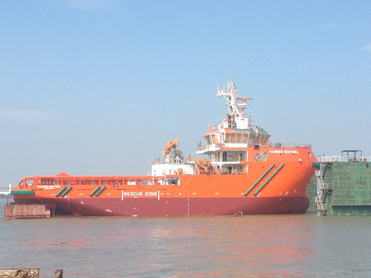 COSCO Guangdong Shipyard delivers emergency response & rescue vessel Mariner Sentinel