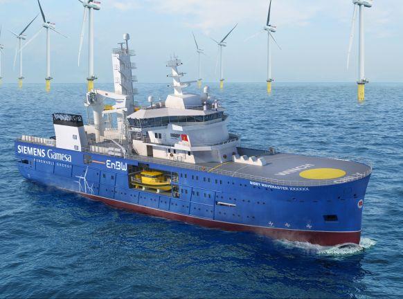 Bakker Sliedrecht again involved in building offshore support vessel Bibby WaveMaster Horizon by Damen