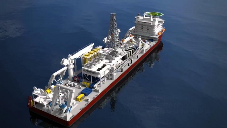 First subsea mining vessel in the world to feature MacGregor subsea cranes
