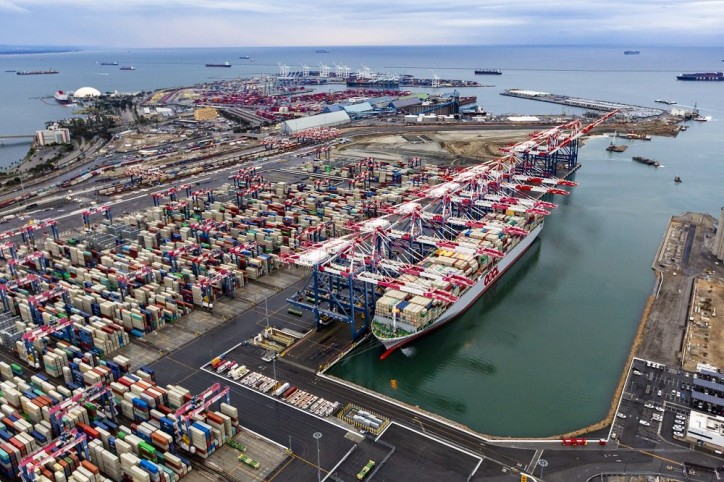 Cargo Record Nears at Port of Long Beach
