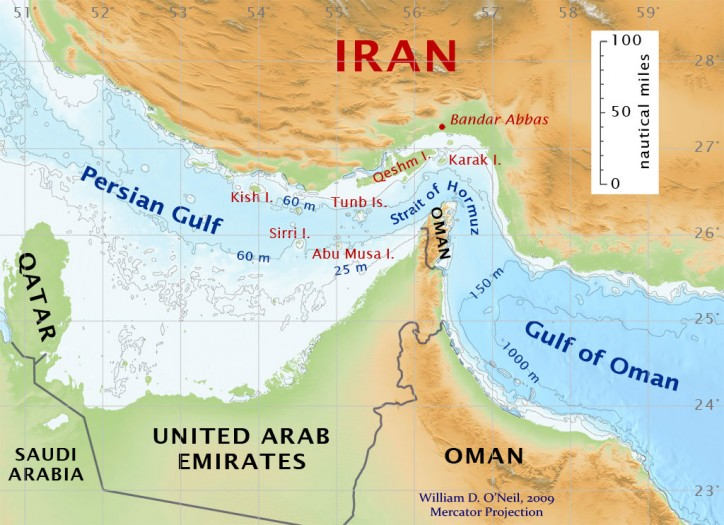 Iran Has Threatened To Close The Vital Strait Of Hormuz To The United States And Its Allies If They Threaten The Regime In Tehran