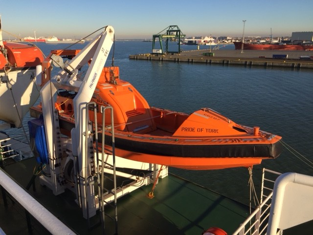 Survitec Supply Latest Fast Rescue Boats to P&O Ferries