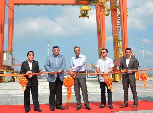 ICTSI opens Manila International Container Terminal Yard 7