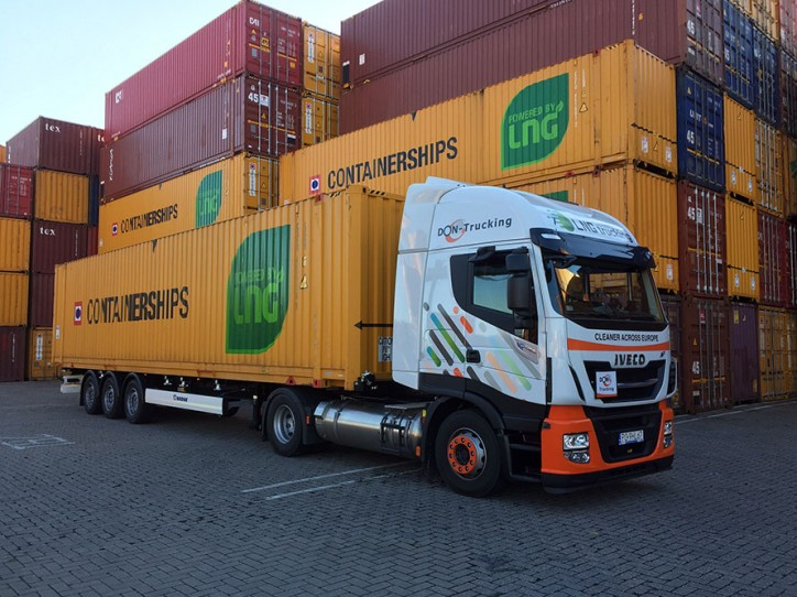 Containerships increases it's LNG-fuelled truck capacity in the port of Rotterdam