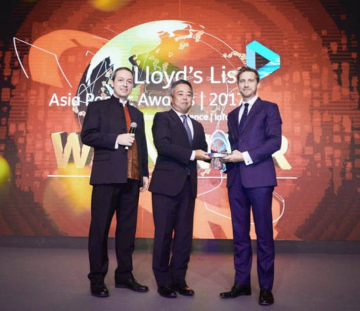 ClassNK wins The Safer, Cleaner Seas Award at the Lloyd's List Asia Pacific Awards