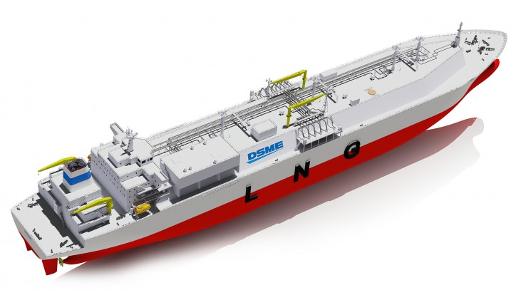 DSME and DNV GL partner for efficient LNG carrier design