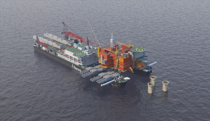 Allseas selected to remove 48,000 t Statfjord A platform
