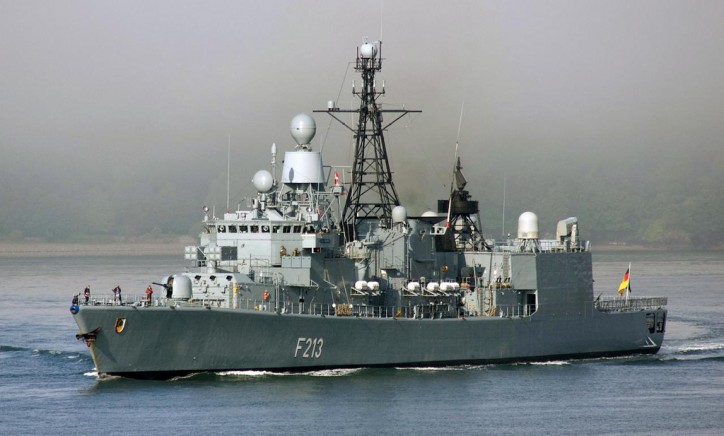 German FGS Augsburg Joins Fight against ISIS