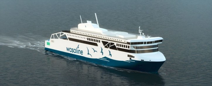 Foreship ensures Wasaline ferry is designed for lean, green and flexible performance