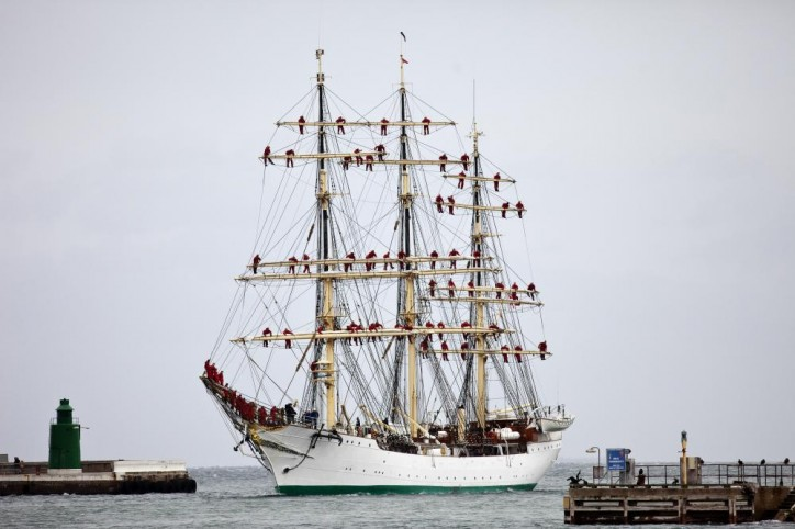 Danmark training ship