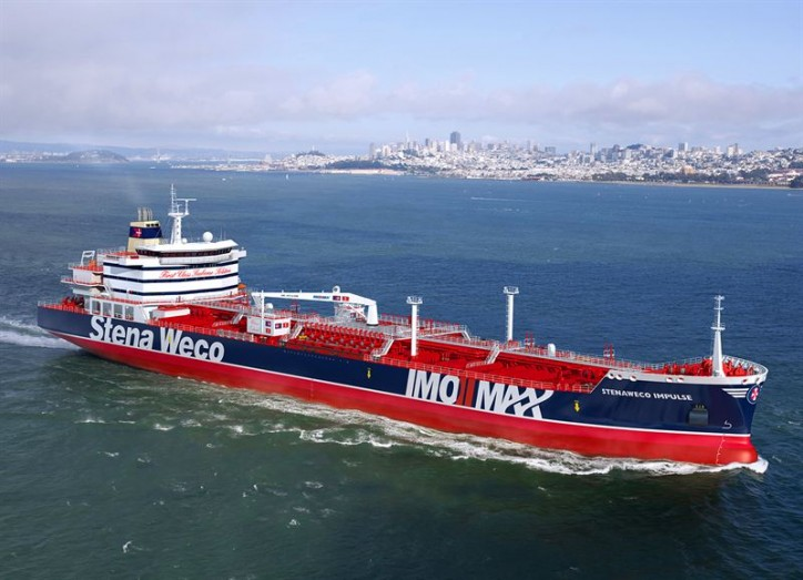 Stena Weco Impulse delivered from shipyard in China