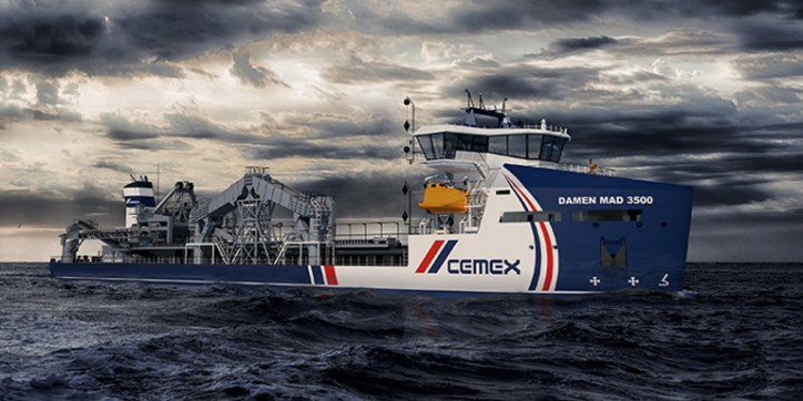 CEMEX, Damen and LR collaborate on next-generation dredger design