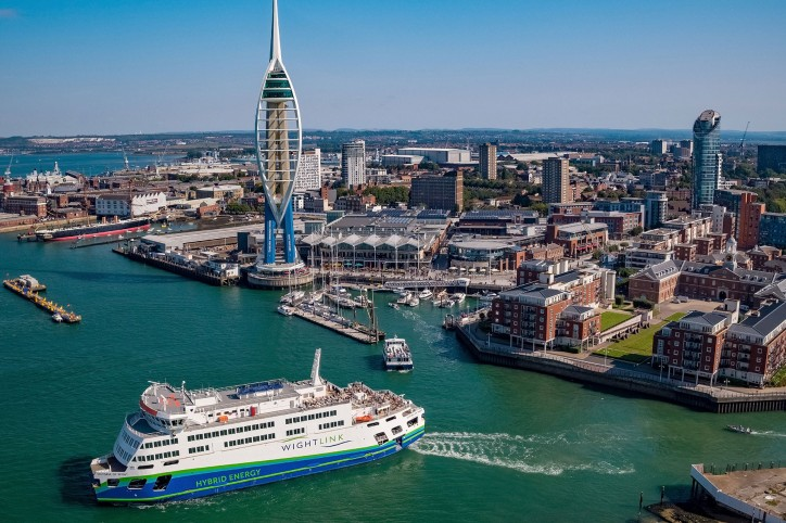 Victoria of Wight to be officially named by HRH The Countess of Wessex