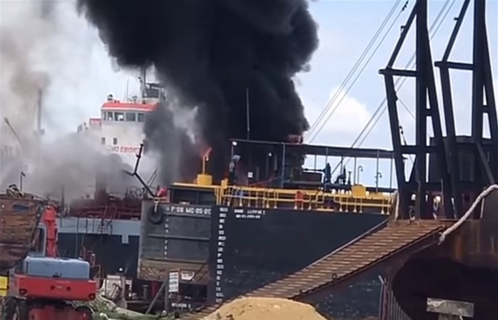 Six died and 22 injured after two blasts in shipyards in Cartagena (Video)