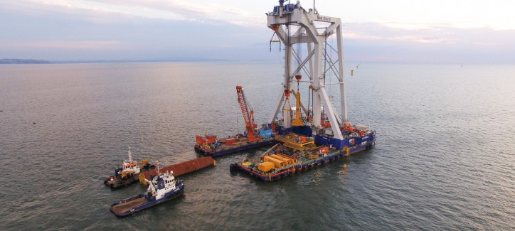 Van Oord completed Burbo Bank Extension offshore wind project for Dong Energy