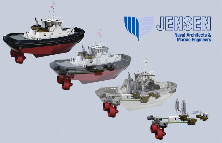 Jensen Maritime to Design Baydelta's First Hybrid Tractor Tug