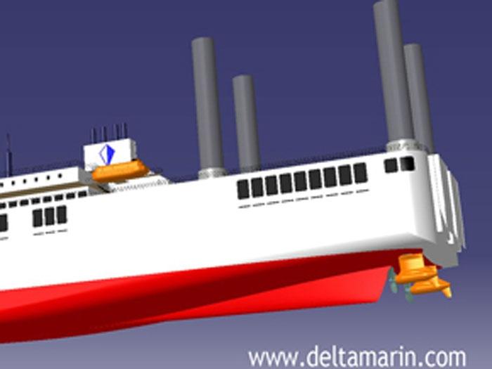 Deltamarin to reveal new Ro-Pax design