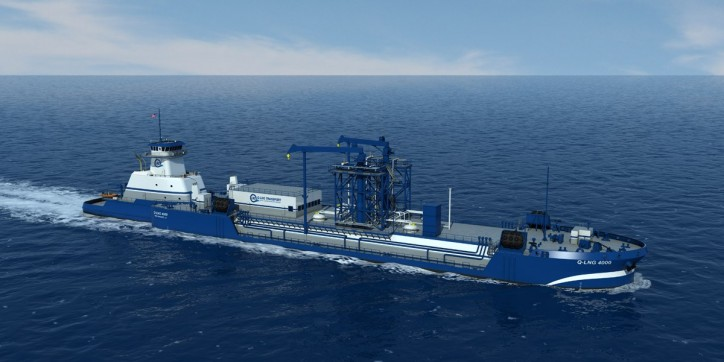 ABS Awarded Classification Contract for LNG Bunker Barge