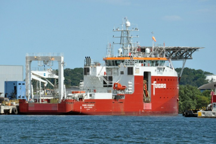 Fugro takes delivery of new ROV support vessel - Fugro Aquarius