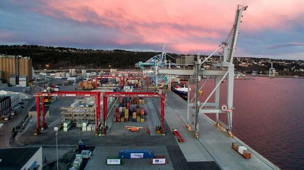 Oslo Yilport container terminal