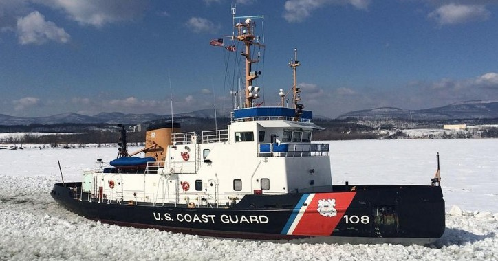 U.S. Coast Guard kicks off ice breaking season in Northeast