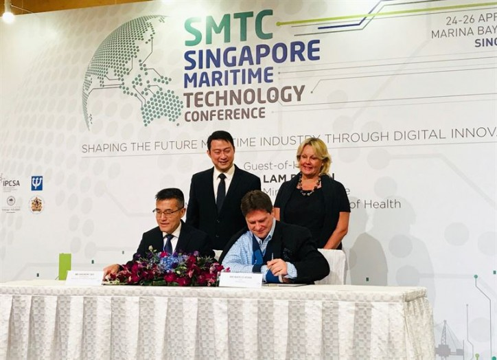 Wärtsilä partners with the Maritime and Port Authority of Singapore to promote maritime technologies