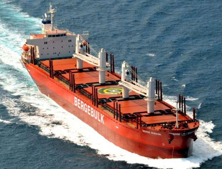 Berge Rishiri Joins Berge Bulk Fleet