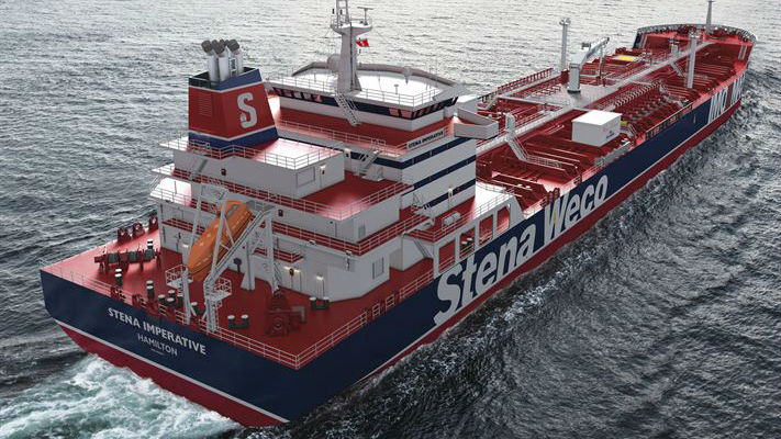 Stena Bulk takes delivery of IMOIIMAX tanker Stena Imperative