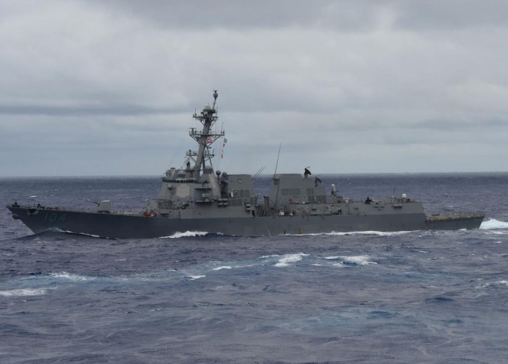 USS Sterett stretching deployment after Fitzgerald collision