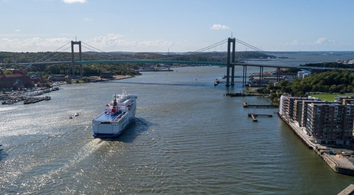 New Ferry - Stena Line expands traffic to Denmark from the Port of Gothenburg