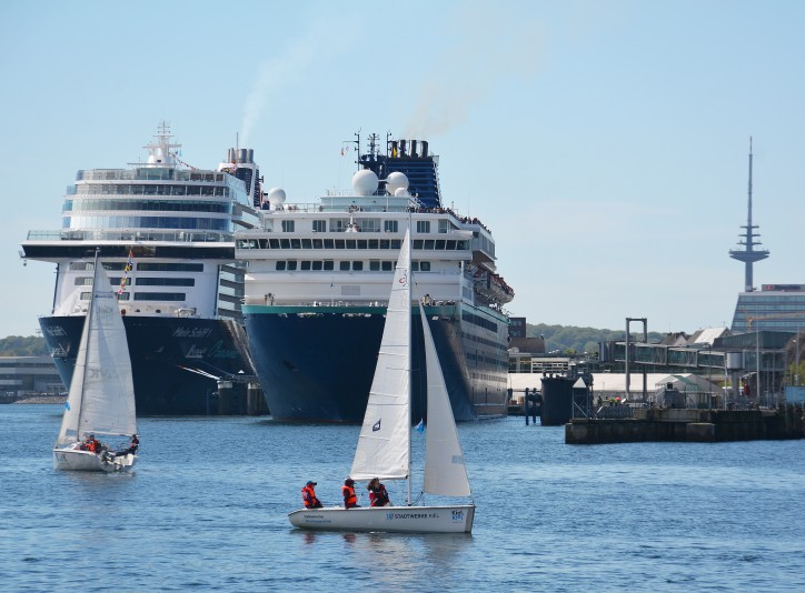 Maiden call by Pullmantur in the Port of Kiel