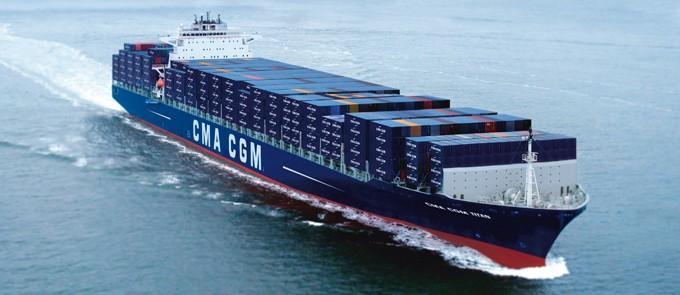 CMA CGM TITAN - IMO 9399222