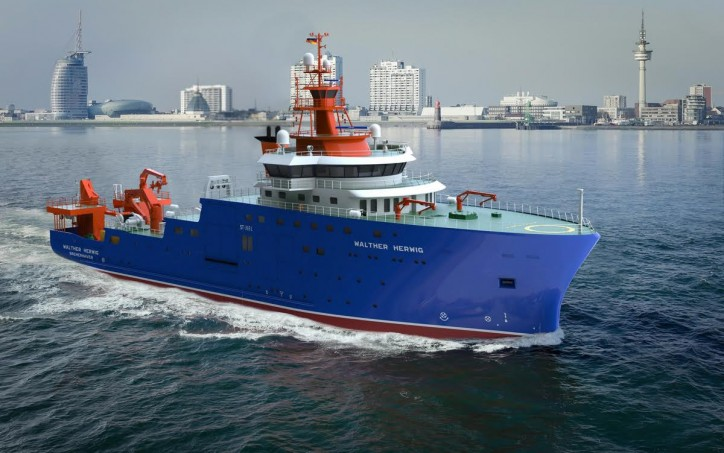 German Federal Office For Agriculture and Food Awards Damen Fisheries Research Vessel Contract