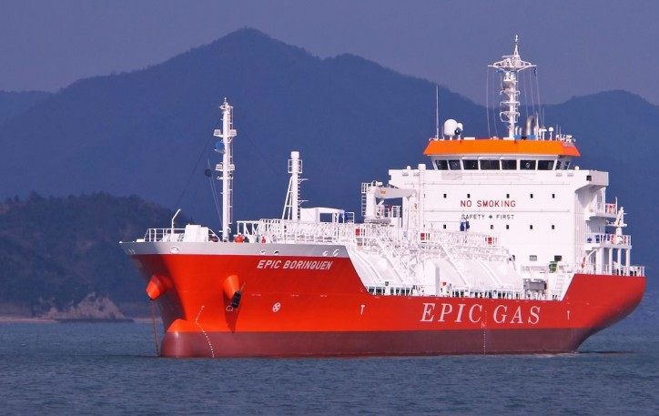 Epic Gas Closes USD 90Mln Refinancing of 14 LPG carriers