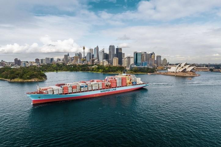 Leda Maersk calls Sydney for 25-year celebrations