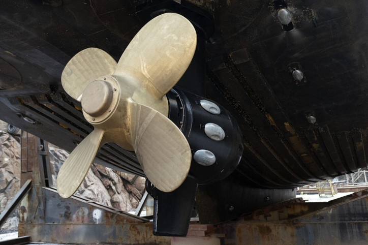 Aker Arctic delivers bronze propellers for ice operations