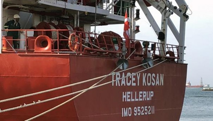 LPG tanker Tracey Kosan reflagged to Denmark