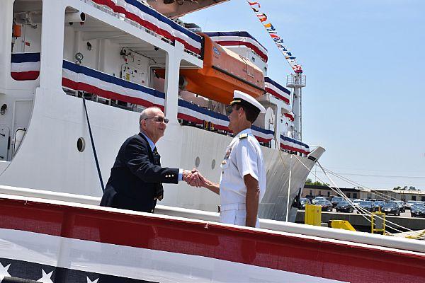 US Navy's Newest Oceanographic Vessel Sets Sail