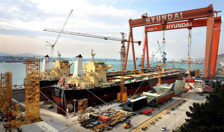 Hyundai Heavy Industries Signed $400 Million Order to Build 5 VLOCs with Polaris Shipping