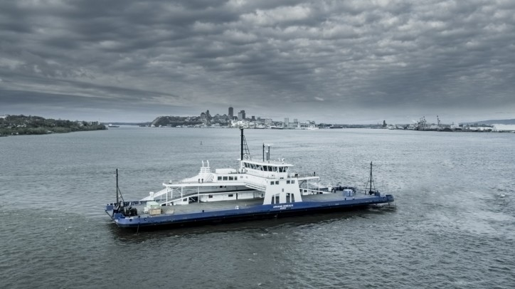 DAVIE: The first North American shipbuilder to deliver an LNG-powered ferry